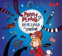 Cover-Bild zu Penny Pepper - Teil 7: Diebesjagd in London von Rylance, Ulrike