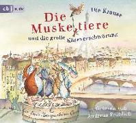 Cover-Bild zu Die Muskeltiere und die große Käseverschwörung von Krause, Ute