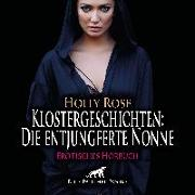 Cover-Bild zu Klostergeschichten: Die entjungferte Nonne | Erotische Geschichte Audio CD von Rose, Holly
