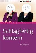Cover-Bild zu Schlagfertig kontern von Zittlau, Dieter J.