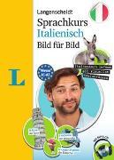 Cover-Bild zu Langenscheidt Sprachkurs Italienisch Bild für Bild - Der visuelle Kurs für den leichten Einstieg mit Buch und einer MP3-CD von Müller-Renzoni, Bettina