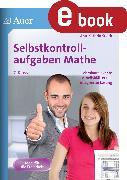 Cover-Bild zu Selbstkontrollaufgaben Mathematik Klasse 7 (eBook) von Sueck, Ann-Kathrin