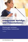 Cover-Bild zu Erfolgreiche Präsentationen und Vorträge von Mentzel, Wolfgang