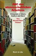Cover-Bild zu ABC des wissenschaftlichen Arbeitens von Theisen, Manuel René