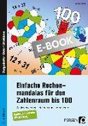 Cover-Bild zu Einfache Rechenmandalas für den Zahlenraum bis 100 (eBook) von Streif, Sophie