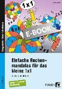 Cover-Bild zu Einfache Rechenmandalas für das kleine 1x1 (eBook) von Streif, Sophie