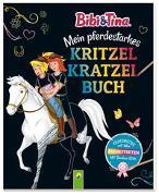 Cover-Bild zu Schwager & Steinlein Verlag: Bibi & Tina - Mein pferdestarkes Kritzel-Kratzel-Buch