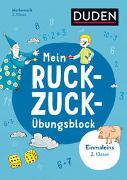 Cover-Bild zu Müller-Wolfangel, Ute: Mein Ruckzuck-Übungsblock Einmaleins 2. Klasse