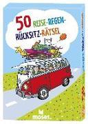 Cover-Bild zu Berger, Nicola: 50 Reise-Regen-Rücksitz-Rätsel