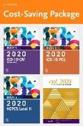 Cover-Bild zu Elsevier: Buck's 2020 ICD-10-CM Hospital Edition, Buck's 2020 ICD-10-PCs Edition, 2020 HCPCS Professional Edition and AMA 2020 CPT Professional Edition Package