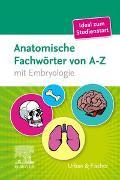 Cover-Bild zu Elsevier GmbH (Hrsg.): Anatomische Fachwörter von A-Z