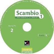 Cover-Bild zu Banzhaf, Michaela: Scambio B 1 Audio-CD Collection1