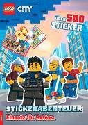 Cover-Bild zu Ameet Verlag: LEGO® City - Stickerabenteuer Einsatz für Helden