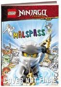 Cover-Bild zu Ameet Verlag: LEGO® NINJAGO® - Malspaß