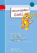 Cover-Bild zu Heide-Liebetrau, Johanna: Hausaufgaben? Cool! 2. Schuljahr. Kopiervorlagen