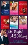Cover-Bild zu Anderson, Natalie: Mr Right All Along: The Secret That Shocked De Santis / Breaking All Their Rules / Crown Prince's Chosen Bride / 'I Do'...Take Two! / The SEAL's Secret Heirs / His Secretary's Surprise Fiance (eBook)
