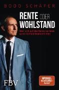 Cover-Bild zu Schäfer, Bodo: Rente oder Wohlstand