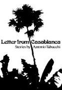 Cover-Bild zu Tabucchi, Antonio: Letter from Casablanca (eBook)