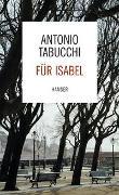 Cover-Bild zu Tabucchi, Antonio: Für Isabel