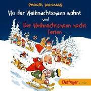 Cover-Bild zu Kunnas, Mauri: Wo der Weihnachtsmann wohnt und Der Weihnachtsmann macht Ferien