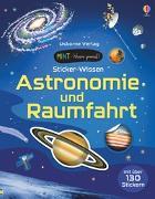 Cover-Bild zu Bone, Emily: MINT - Wissen gewinnt! Sticker-Wissen: Astronomie und Raumfahrt