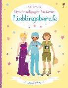 Cover-Bild zu Bone, Emily: Mein Anziehpuppen-Stickerbuch: Lieblingsberufe