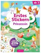 Cover-Bild zu Theissen, Petra (Illustr.): Erstes Stickern Prinzessin
