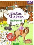 Cover-Bild zu Theissen, Petra (Illustr.): Erstes Stickern Reiterhof
