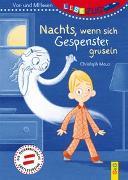 Cover-Bild zu Mauz, Christoph: LESEZUG/Vor- und Mitlesen: Nachts, wenn sich Gespenster gruseln