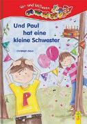 Cover-Bild zu Mauz, Christoph: LESEZUG/Vor- und Mitlesen: Und Paul hat eine Schwester