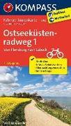 Cover-Bild zu KOMPASS-Karten GmbH (Hrsg.): Fahrrad-Tourenkarte Ostseeküstenradweg 1, Von Flensburg nach Lübeck. 1:50'000