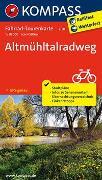 Cover-Bild zu KOMPASS-Karten GmbH (Hrsg.): Fahrrad-Tourenkarte Altmühltalradweg. 1:50'000