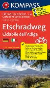 Cover-Bild zu KOMPASS-Karten GmbH (Hrsg.): Fahrrad-Tourenkarte Etschradweg - Ciclabile dell'Adige. 1:50'000