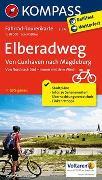 Cover-Bild zu KOMPASS-Karten GmbH (Hrsg.): Fahrrad-Tourenkarte Elberadweg, Von Cuxhaven nach Magdeburg. 1:50'000