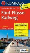 Cover-Bild zu KOMPASS-Karten GmbH (Hrsg.): Fahrrad-Tourenkarte Fünf-Flüsse-Radweg. 1:50'000