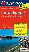 Cover-Bild zu KOMPASS-Karten GmbH (Hrsg.): Fahrrad-Tourenkarte Innradweg 2, Von Innsbruck nach Passau. 1:50'000