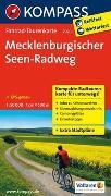 Cover-Bild zu KOMPASS-Karten GmbH (Hrsg.): Fahrrad-Tourenkarte Mecklenburgischer Seen-Radweg. 1:50'000
