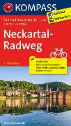 Cover-Bild zu KOMPASS-Karten GmbH (Hrsg.): Fahrrad-Tourenkarte Neckartal-Radweg. 1:50'000