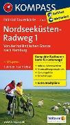 Cover-Bild zu KOMPASS-Karten GmbH (Hrsg.): Fahrrad-Tourenkarte Nordseeküstenradweg 1, Von der holländischen Grenze nach Hamburg. 1:50'000