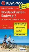 Cover-Bild zu KOMPASS-Karten GmbH (Hrsg.): Fahrrad-Tourenkarte Nordseeküstenradweg 2, Von Hamburg/Elbe zur dänischen Grenze. 1:50'000
