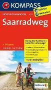 Cover-Bild zu KOMPASS-Karten GmbH (Hrsg.): Fahrrad-Tourenkarte Saarradweg. 1:50'000