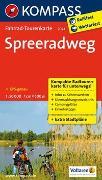 Cover-Bild zu KOMPASS-Karten GmbH (Hrsg.): Fahrrad-Tourenkarte Spreeradweg. 1:50'000