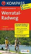 Cover-Bild zu KOMPASS-Karten GmbH (Hrsg.): Fahrrad-Tourenkarte Werratal-Radweg. 1:50'000