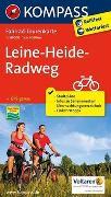 Cover-Bild zu KOMPASS-Karten GmbH (Hrsg.): Fahrrad-Tourenkarte Leine-Heide-Radweg. 1:50'000