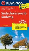Cover-Bild zu KOMPASS-Karten GmbH (Hrsg.): Fahrrad-Tourenkarte Südschwarzwald-Radweg. 1:50'000