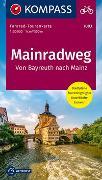 Cover-Bild zu KOMPASS-Karten GmbH (Hrsg.): Fahrrad-Tourenkarte Mainradweg, Von Bayreuth nach Mainz. 1:50'000