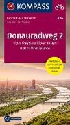 Cover-Bild zu KOMPASS-Karten GmbH (Hrsg.): Fahrrad-Tourenkarte Donauradweg 2, Von Passau über Wien nach Bratislava. 1:50'000