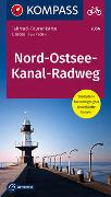 Cover-Bild zu KOMPASS-Karten GmbH (Hrsg.): Fahrrad-Tourenkarte Nord-Ostsee-Kanal-Radweg. 1:50'000