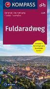 Cover-Bild zu KOMPASS-Karten GmbH (Hrsg.): Fahrrad-Tourenkarte Fuldaradweg. 1:50'000