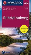 Cover-Bild zu KOMPASS-Karten GmbH (Hrsg.): Fahrrad-Tourenkarte Ruhrtalradweg. 1:50'000